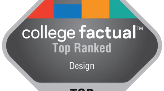 top-ranked Design Badge